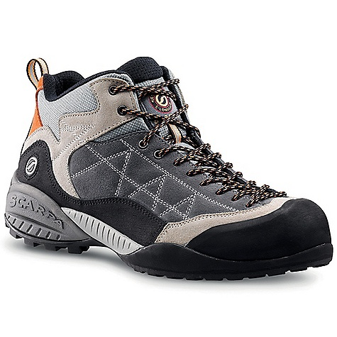 photo: Scarpa Dharma Pro approach shoe