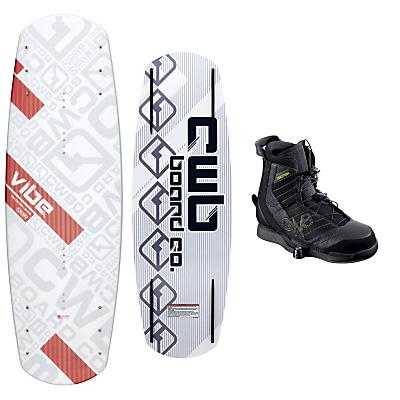 CWB Vibe Wakeboard 142 w/ Faction Bindings Blem - Men's