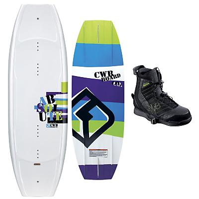 CWB Absolute Wakeboard 141 w/ Faction Bindings Blem - Men's