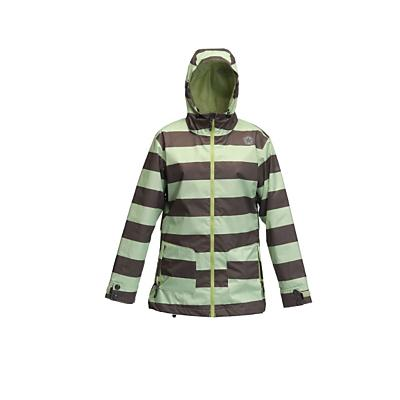 Sessions Jane Heather Stripe Snowboard Jacket - Women's