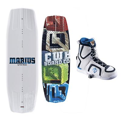 CWB Marius Wakeboard 140 w/ Marius Bindings Blem - Men's