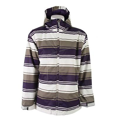 Sessions Truth Retro Stripe Snowboard Jacket - Men's