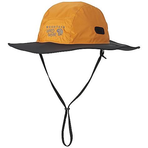 photo: Mountain Hardwear Downpour Wide Brim Hat rain hat