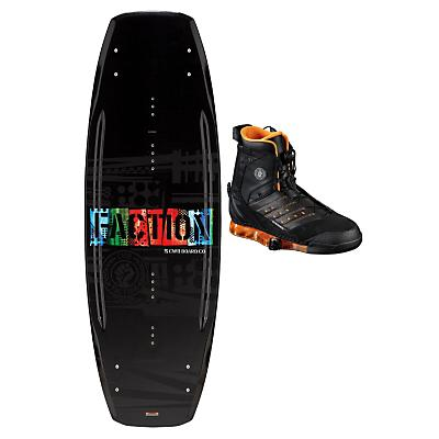 CWB Faction Wakeboard 144 w/ Faction Bindings - Men's