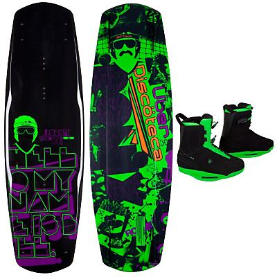 Ronix Bill Wakeboard 142 w/ Frank Boots - Men's