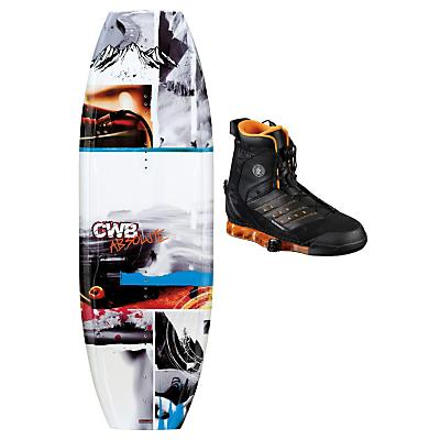 CWB Absolute Wakeboard 135 w/ Faction Bindings - Men's