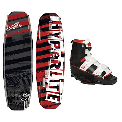 Hyperlite Premier Wakeboard 141 w/ Circuit Bindings - Men's