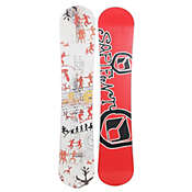 Sapient Evolution Snowboard White 143 - Boy's