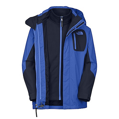 photo: The North Face Boys' Atlas Triclimate Jacket component (3-in-1) jacket