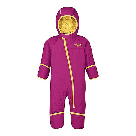 photo: The North Face Girls' Insulated Toasty Toes Bunting kids' snowsuit/bunting