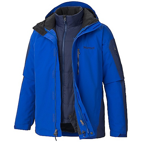 photo: Marmot Men's Tamarack Component Jacket component (3-in-1) jacket