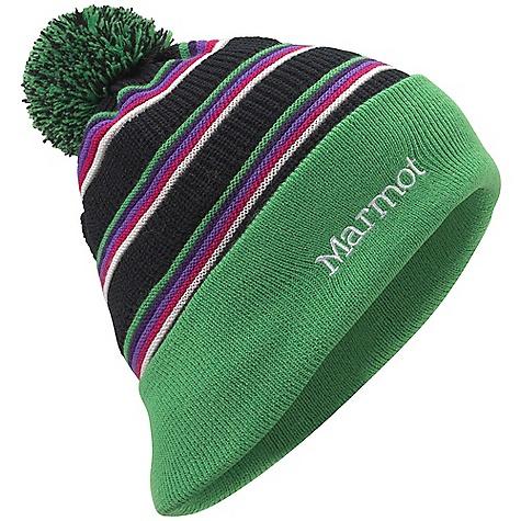 Marmot Stripey Pom Hat