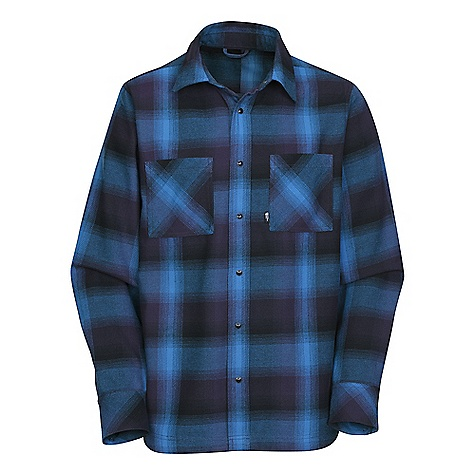 photo: The North Face Cledus Flannel hiking shirt