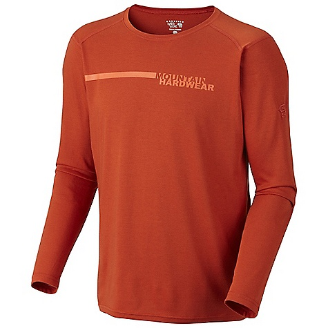 photo: Mountain Hardwear Cliffer Long Sleeve T long sleeve performance top
