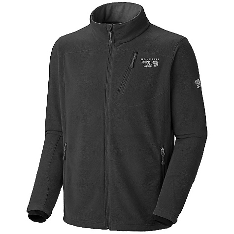 photo: Mountain Hardwear Men's Deflection Fleece Jacket fleece jacket
