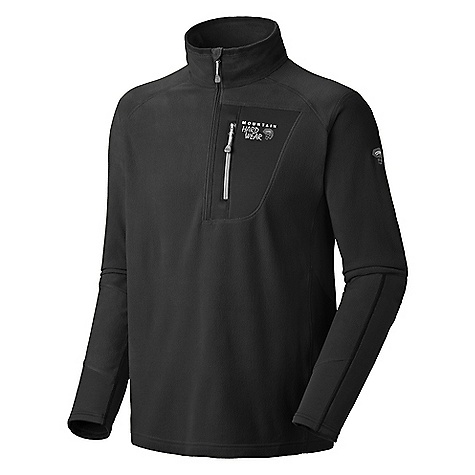 photo: Mountain Hardwear Men's Microstretch Zip Tee fleece top