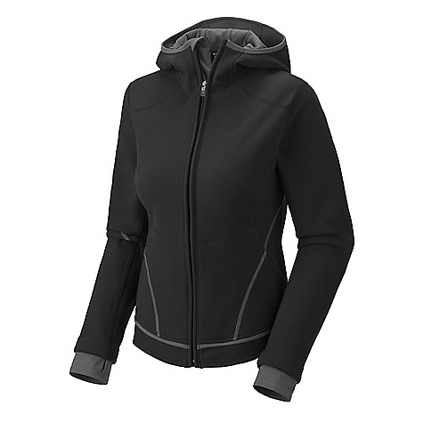 photo: Mountain Hardwear Buttafleece Hoody fleece jacket