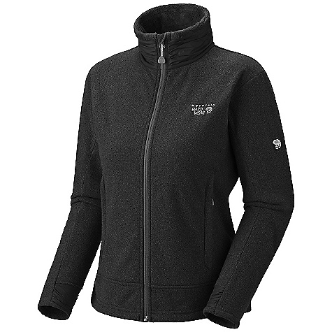photo: Mountain Hardwear Women's Deflection Fleece Jacket fleece jacket