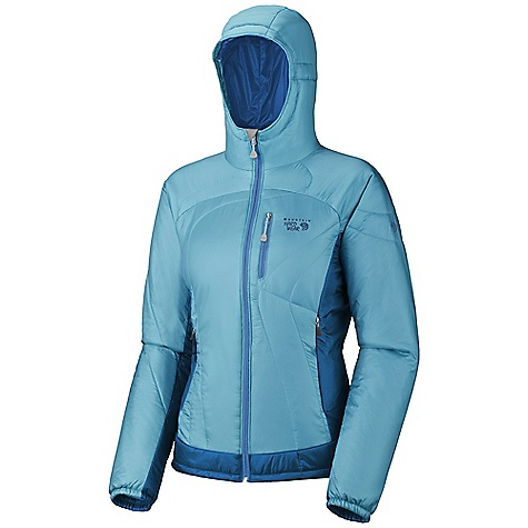 photo: Mountain Hardwear Women's Hooded Compressor Jacket synthetic insulated jacket