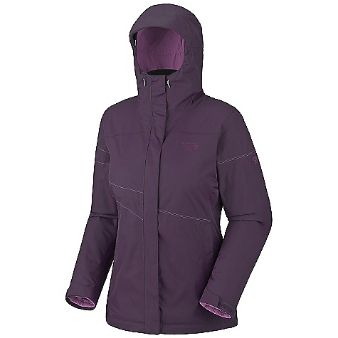 photo: Mountain Hardwear Main Street Trifecta Jacket component (3-in-1) jacket