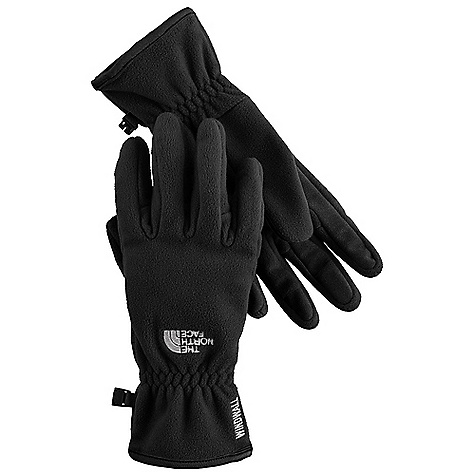 photo: The North Face Women's WindWall Glove fleece glove/mitten