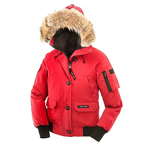 Canada Goose Women's Chilliwack Bomber Jacket Red
