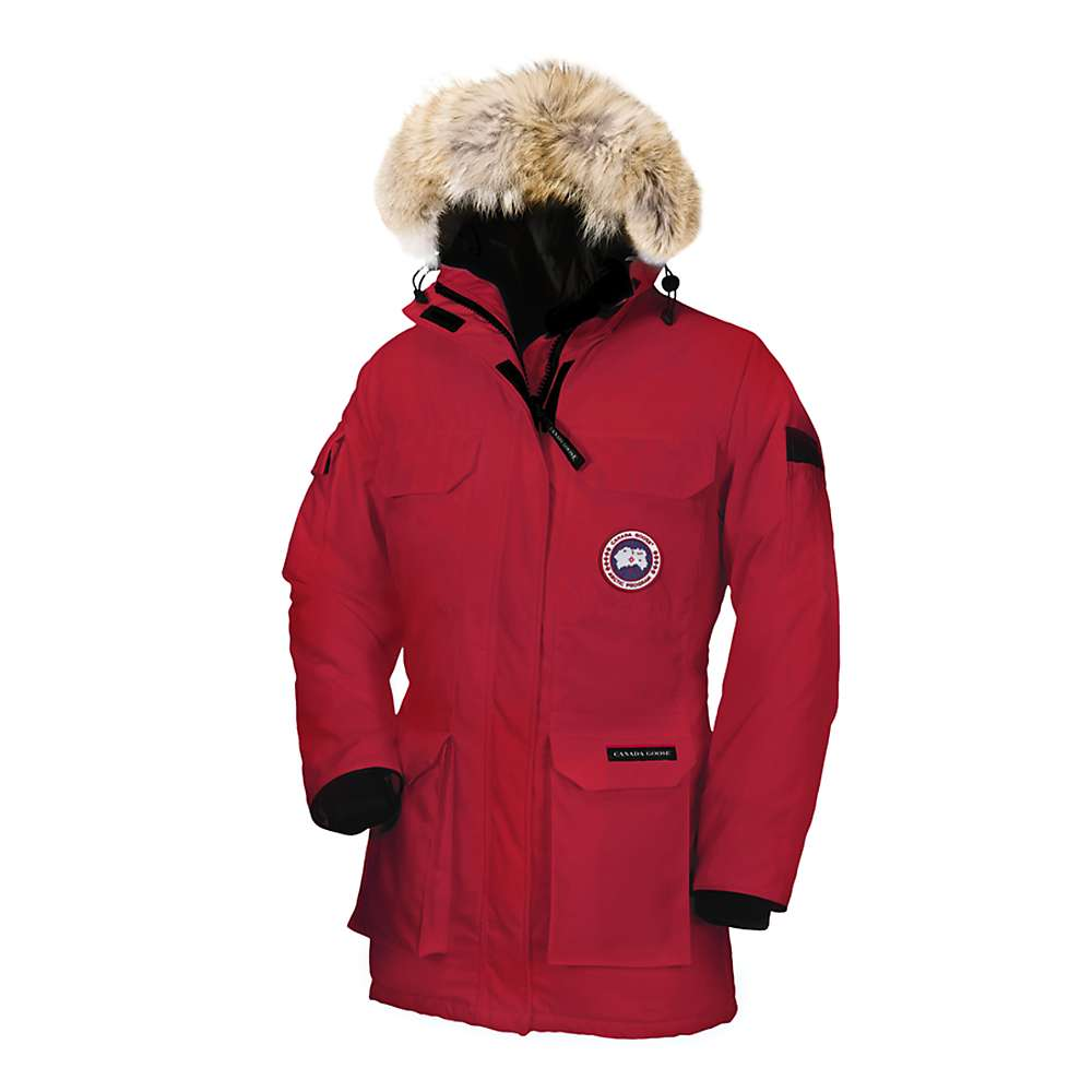 Canada Goose Women's Expedition Parka - Small - Red
