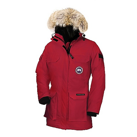 Canada Goose Women's Expedition Parka Red