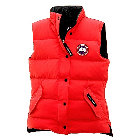 Canada Goose Women's Freestyle Vest Red
