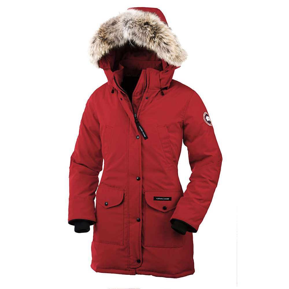 Canada Goose Women's Trillium Parka - Medium - Red