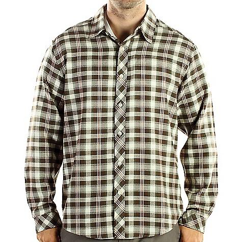 ExOfficio Pocatello Plaid Macro Long-Sleeve Shirt
