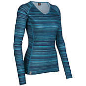 Icebreaker Women's Oasis V Ripple Top