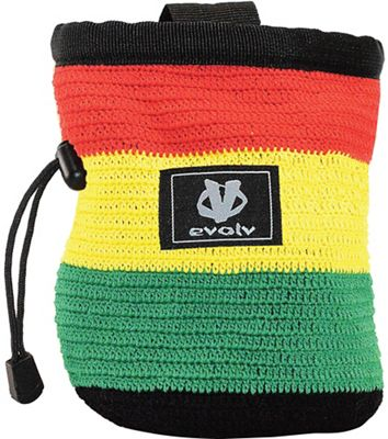 Evolv Rasta Knit Chalkbag