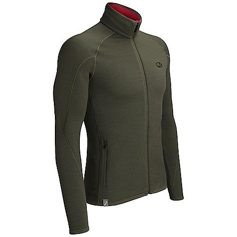 photo: Icebreaker Sierra Full Zip fleece jacket