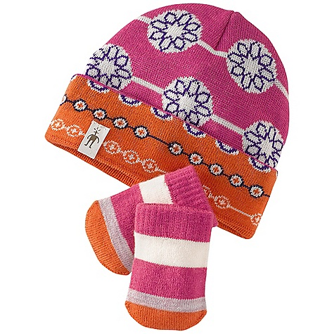 photo: SmartWool Lil' Daisy Hat/Mitt Set