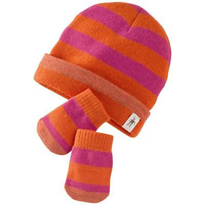 Smartwool Kids' Stripe Hat / Mitt Set