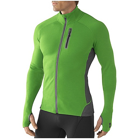 photo: Smartwool TML Light SportKnit Full-Zip Top long sleeve performance top