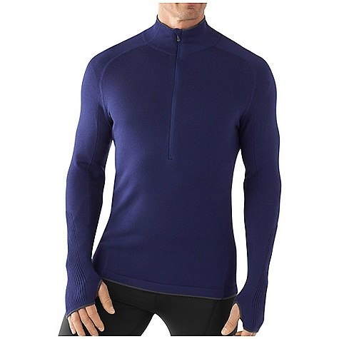 photo: Smartwool TML Light SportKnit Half-Zip long sleeve performance top