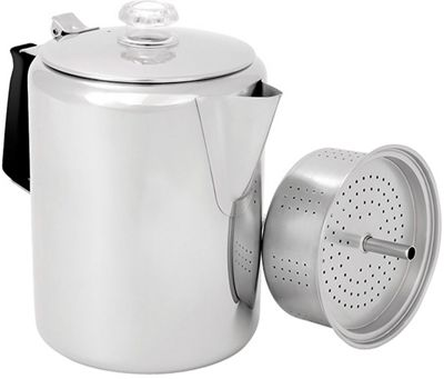 GSI Outdoors Stove Top Glacier Stainless Perc