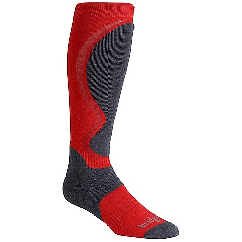 photo: Bridgedale Men's Heel Fit snowsport sock