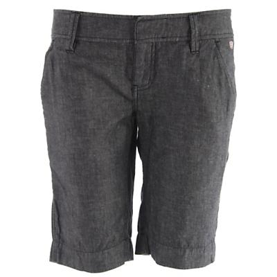 Planet Earth Chambray Long Shorts - Women's