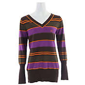 Planet Earth Stripes Sweater - Women's