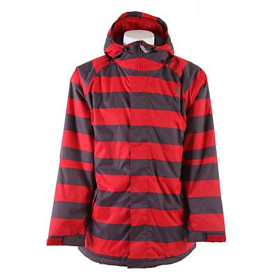 Sessions Kreuger Heather Stripe Snowboard Jacket - Men's