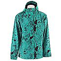 Quiksilver Tracker Print Shell Snowboard Jacket - Men's