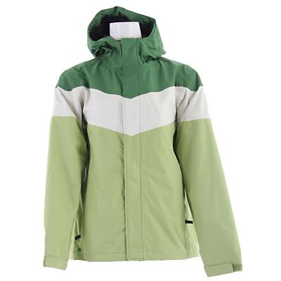 Planet Earth Striped Snowboard Jacket - Women's