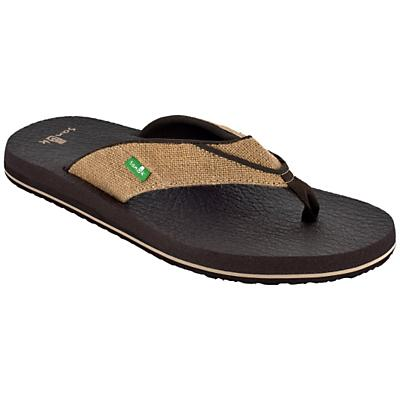 Sanuk Men's Beer Cozy Jute Sandal