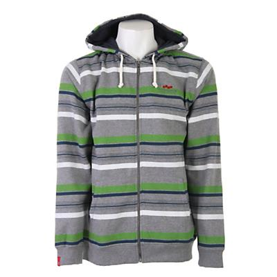 Foursquare Multi Stripe Fullzip Hoodie - Men's