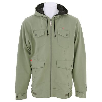 Foursquare Leaf Maze Full Zip Hoodie - Men's