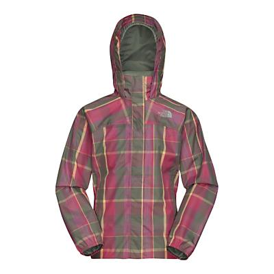 The North Face Girls' Plaid Resolve Jacket