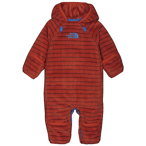 photo: The North Face Kids' Striped Buttery Bunting kids' snowsuit/bunting